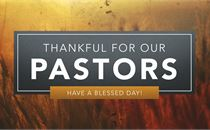 Pastor Appreciation - Title