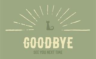 Halloween - Goodbye