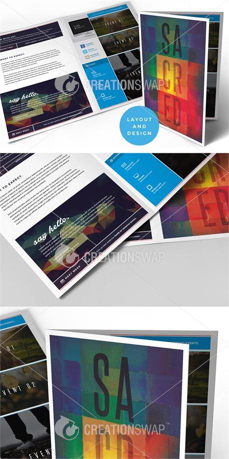 SACRED Bulletin and Design (33455)