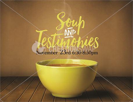 Soup & Testimonies (33470)