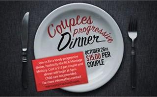 Couples Progressive Dinner