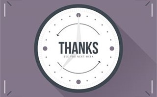 Set Back Clocks - Thanks