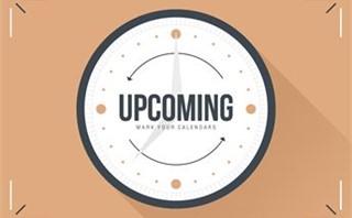Set Back Clocks - Upcoming