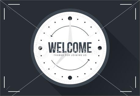 Set Back Clocks - Welcome (33515)