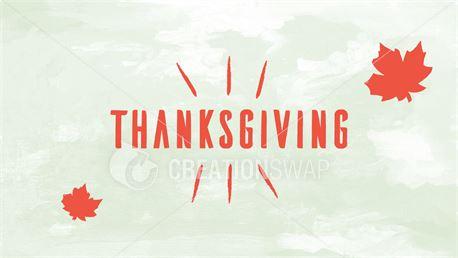 Thanksgiving (33525)
