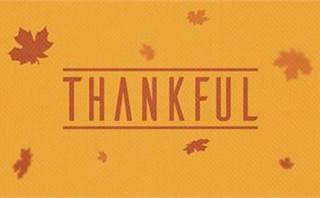 Fall Thankful Leaves