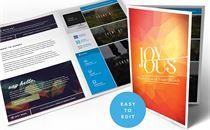 Joyous Bulletin and Design