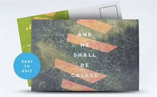 He Shall Be Called Postcard