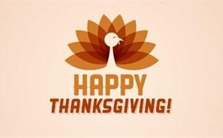 Happy Thanksgiving Turkey Loop
