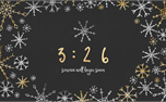 Winter Foil: Countdown (34112)