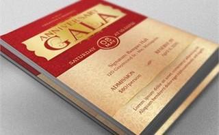 Anniversary Gala Flyer