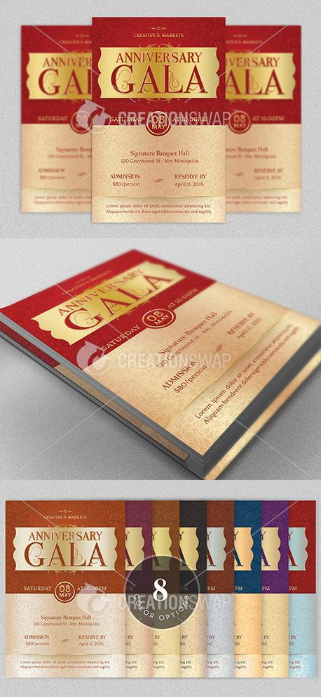 Anniversary Gala Flyer (34326)