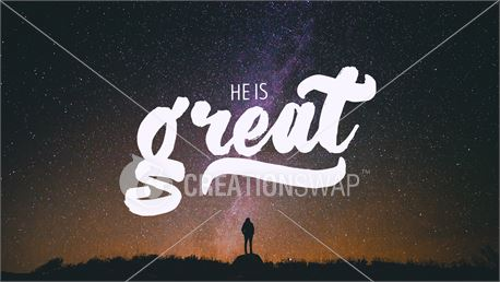 He is Great (34530)