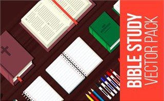 Bible Study Vector Pack