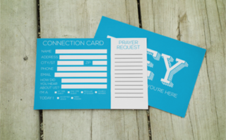 Visitor Connect Card