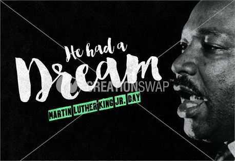 MLK He had a dream (34798)