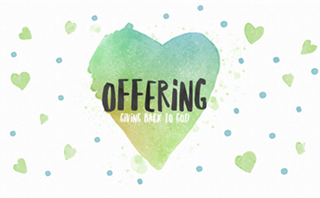 Watercolor Heart: Offering
