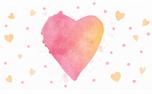 Watercolor Heart: Loop 2 (34960)