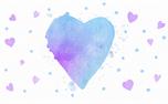 Watercolor Heart: Loop 3 (34961)