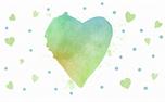 Watercolor Heart: Loop 4 (34962)