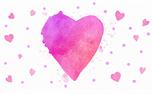Watercolor Heart: Loop 5 (34963)