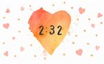 Watercolor Heart: Countdown (34964)