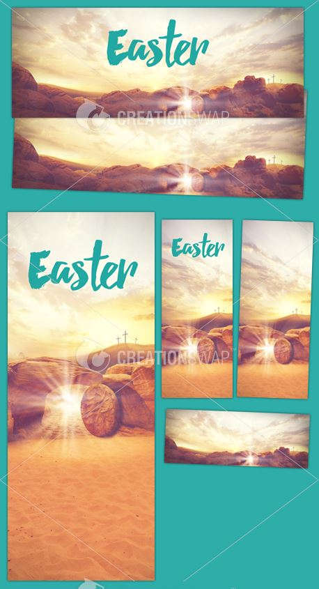 Easter Resurrection Banners (35048)