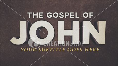 Gospel of John Sermon Series (35101)