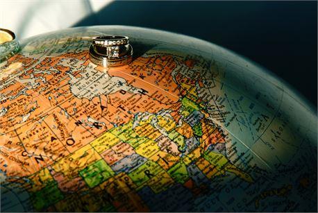 Rings on a Globe (35105)