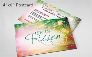 He Is Risen Sunrise Postcard