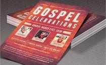 Gospel Celebrations Flyer