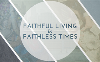 Faithful Living Bumper