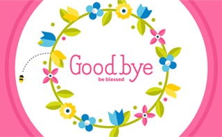 Easter Flowers: Goodbye