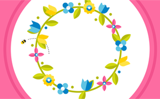 Easter Flowers: Loop 2