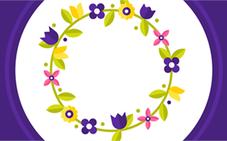 Easter Flowers: Loop 5