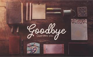 Bible Study: Goodbye