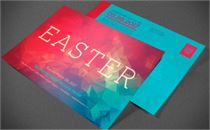 Modern Easter Church Flyer