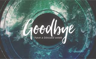 Baptism Waves: Goodbye