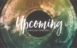 Baptism Waves: Upcoming