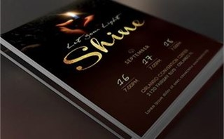 Shine Church Flyer Template