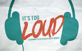It's Too Loud - Series Art