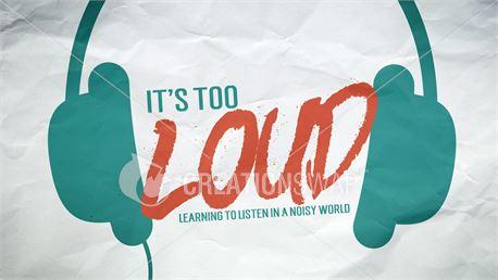 It's Too Loud - Series Art (37301)