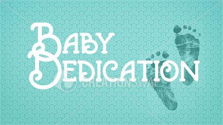 Baby Dedication Footprints (37337)