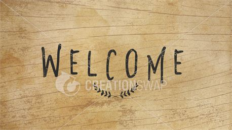Wooden Welcome (37534)