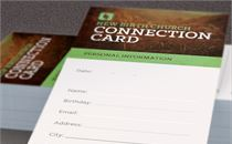 Growing Church Connection Card