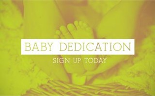 Baby Dedication Slides