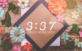 Flower Power Countdown