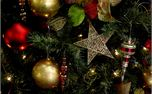 Christmas tree star background (38422)