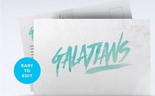 Galatians Postcard