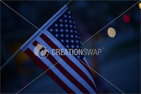 Flag at Night (39066)